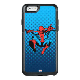 Retro Spider-Man Web Shooting OtterBox iPhone 6/6s Case