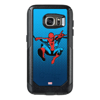 Retro Spider-Man Web Shooting OtterBox Samsung Galaxy S7 Case