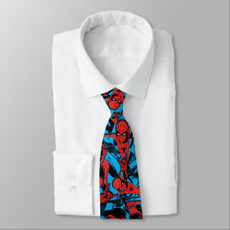 Retro Spider-Man Web Shooting Tie