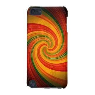 Retro Spiral Swirl Colorful Pattern iPod Touch Cas iPod Touch 5G Cases