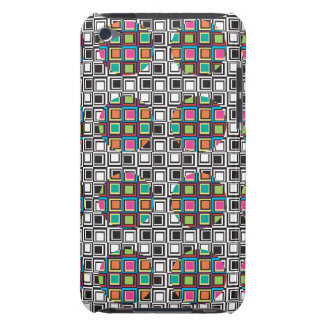 Retro square pattern barely there iPod covers