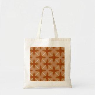Retro star design pattern bag