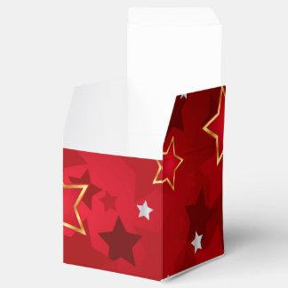 Retro Star Pattern Favour Box