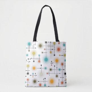 Retro Starbursts A Go-Go! Tote Bag