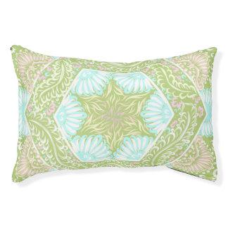 Retro stars pattern pet bed