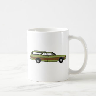 retro station wagon coffee mug