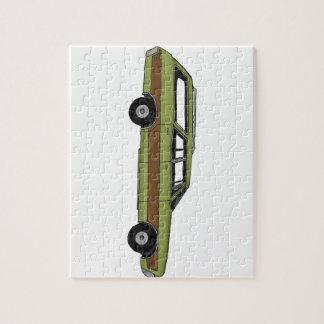 retro station wagon jigsaw puzzle