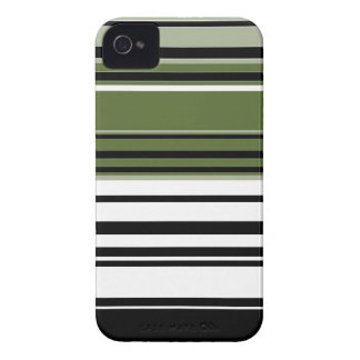 Retro Striped Abstract Art 2 iPhone 4 Case-Mate Cases