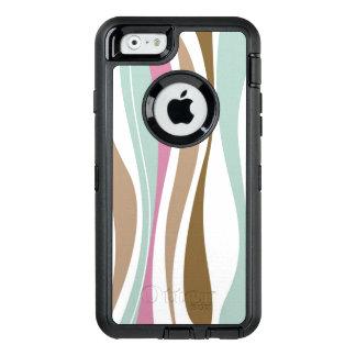 Retro Stripes OtterBox iPhone 6/6s Case