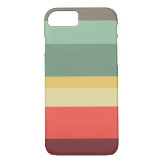 Retro stripes phone case