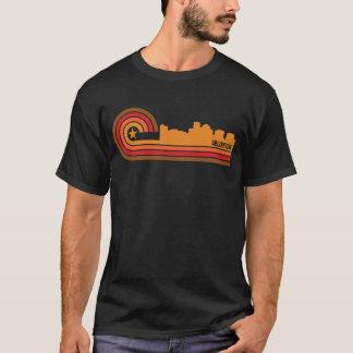 Retro Style Arlington Virginia Skyline T-Shirt