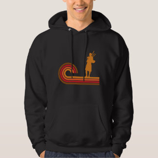 Retro Style Bagpipes Silhouette Music Hoodie