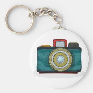 Retro Style Camera Keychain