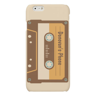 Retro Style Cassette Tape Personalized Phone Case
