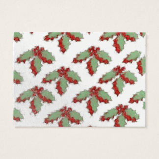 Retro Style Christmas Holly