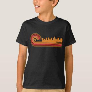 Retro Style Columbus Ohio Skyline T-Shirt