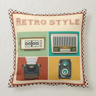retro style cushion