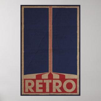 Retro Style Design Posters