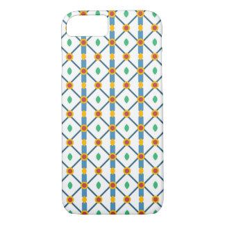 Retro style geometric pattern iPhone 7 case