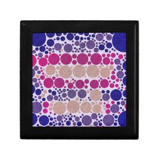Retro Style Pattern Bling Dots Gift Box