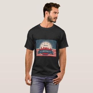 Retro Style Phoenix Arizona Skyline T-Shirt