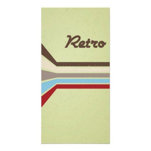 Retro Style Photo Card