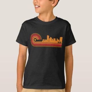 Retro Style Toledo Ohio Skyline T-Shirt