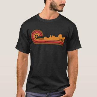 Retro Style Trenton New Jersey Skyline T-Shirt