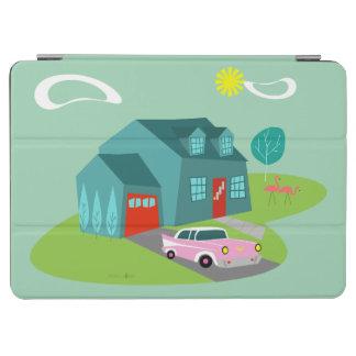Retro Suburban House iPad Pro Cover