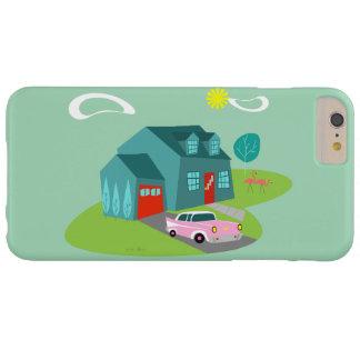 Retro Suburban House iPhone Case