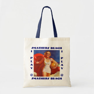 RETRO SUMMER BEACH BAGS TOTE BAG RED COVER-UP