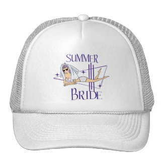 Retro Summer Bride Gifts Cap