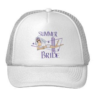 Retro Summer Bride Gifts Trucker Hat