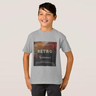 Retro summer Original tshirt for boy