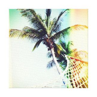 Retro Summertime Canvas Print