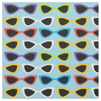 Retro sunglasses fabric