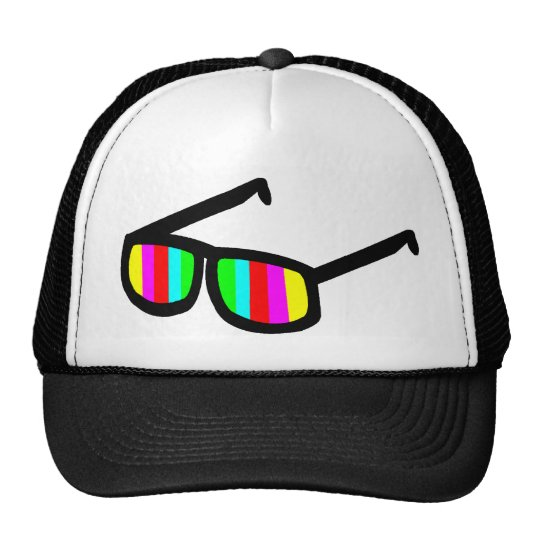 Retro Sunglasses Hat