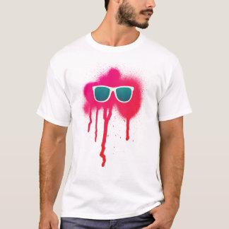 Retro Sunglasses Splatter T-Shirt