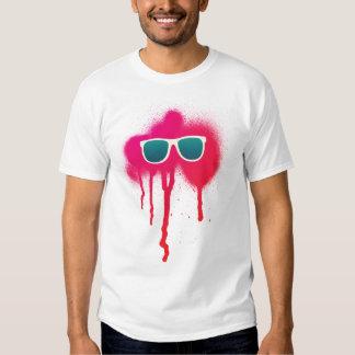 Retro Sunglasses Splatter Tee Shirt