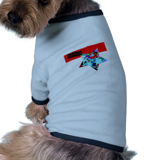 Retro Superstar In Day-Glo Pet Clothing
