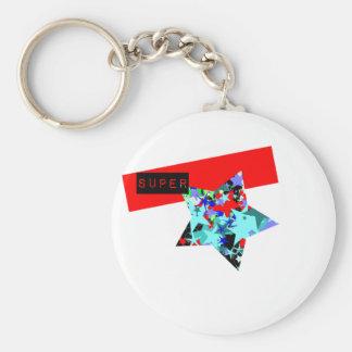 Retro Superstar In Day-Glo Keychains