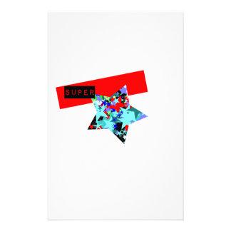 Retro Superstar In Day-Glo Stationery