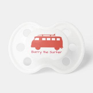 Retro Surf Bus Illustration Dummy