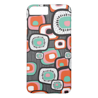 Retro Sushi Box Flower Squares Custom Case