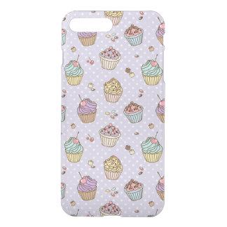 Retro Sweets Pattern iPhone 7 Plus Case