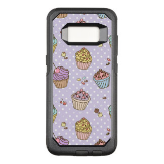 Retro Sweets Pattern OtterBox Commuter Samsung Galaxy S8 Case