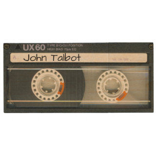 Retro T6 Audiotape personalized USB Wood USB Flash Drive