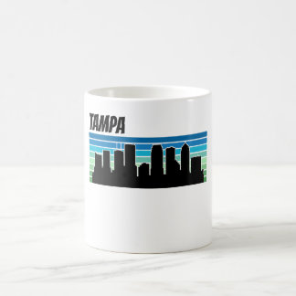 Retro Tampa Skyline Coffee Mug