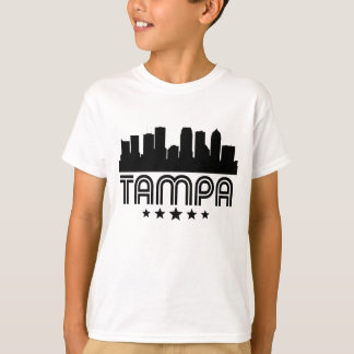 Retro Tampa Skyline T-Shirt