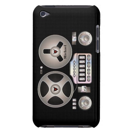 Retro Tape Recorder Magnetophon iPod Touch Case